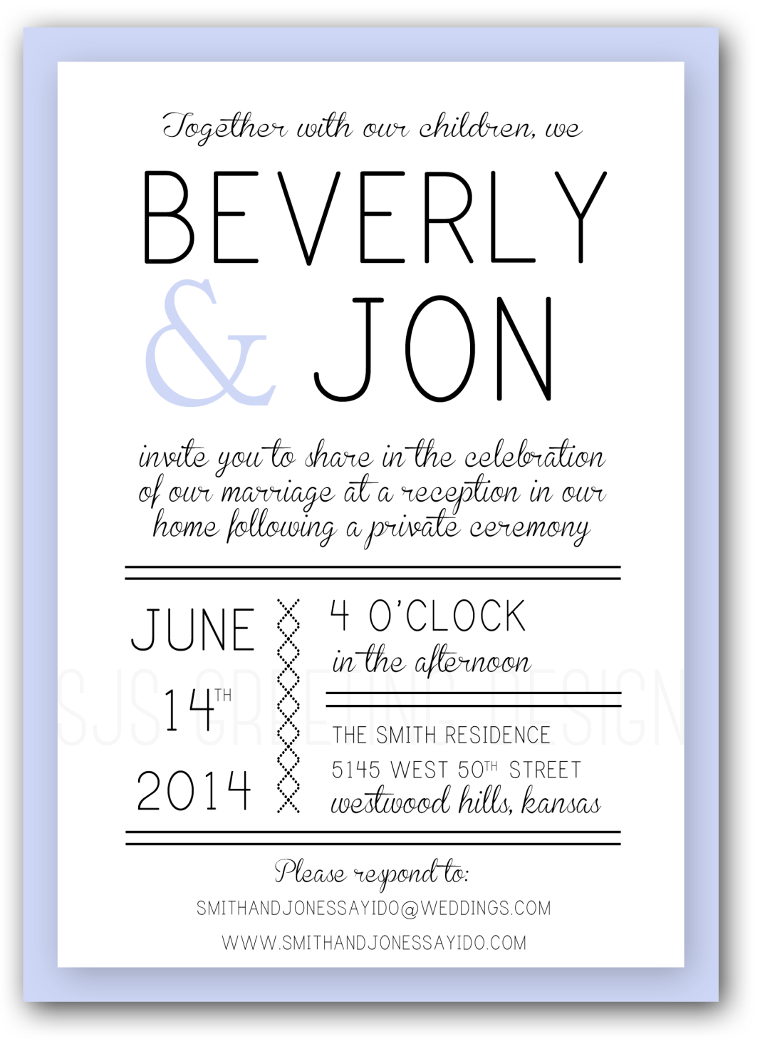 BEVERLY WEDDING