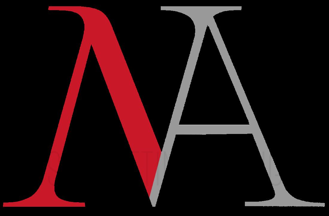a-n wedding logo