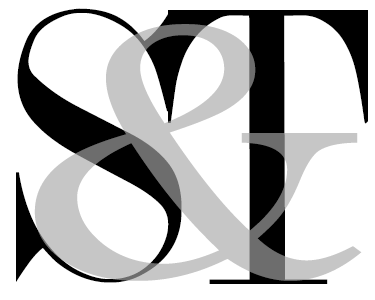 s t monogram
